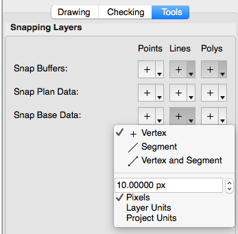 ARK Snapping Layer Panel